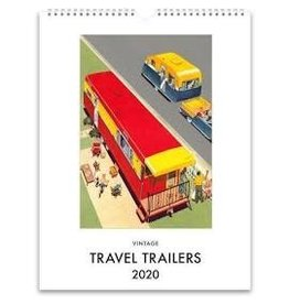 Found Image Press Travel Trailer Desk Calendar 2020