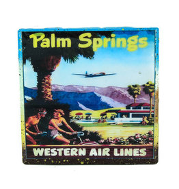 Palm Springs Western Airlines Coaster