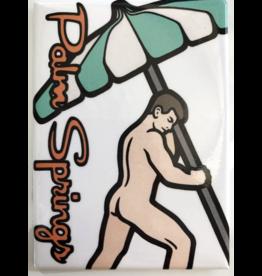 Palm Springs Umbrella Magnet