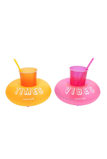 Inflatable Drink Holders Party Malibu Set of 2