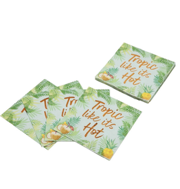 Cocktail Napkins Pina Colada Set Of 20