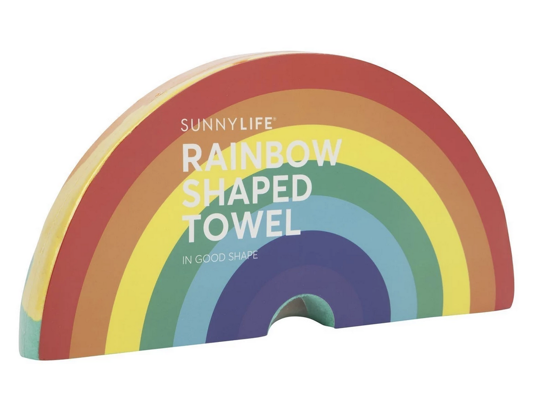 Rainbow Shaped Towel