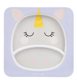 Kids Plate Unicorn