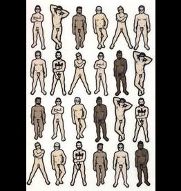 Male Nudes 11x14 Print