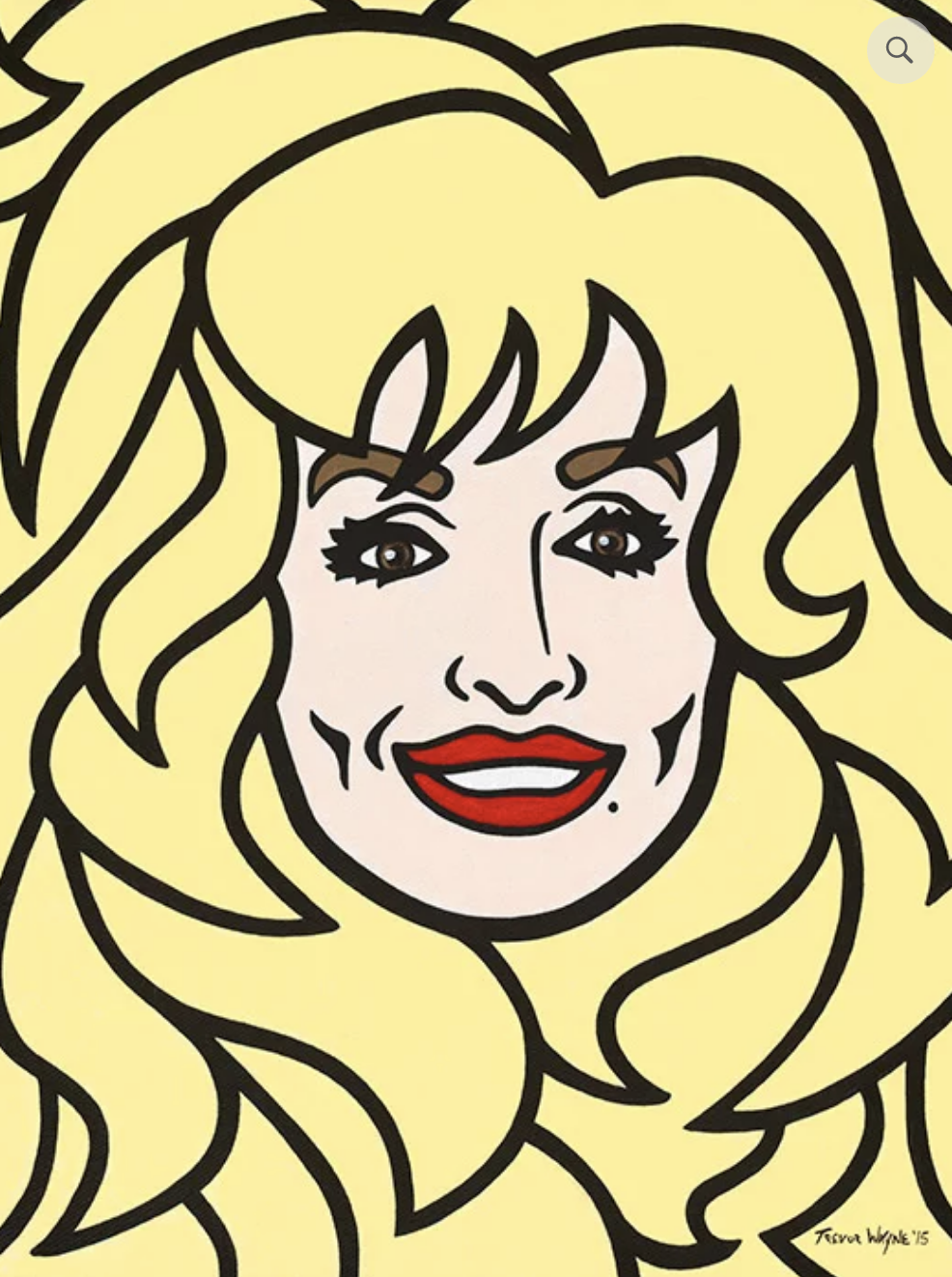Dolly 11x14 Matted Print