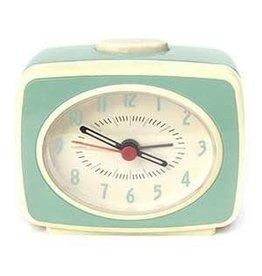 Small Classic Alarm Clock: Mint