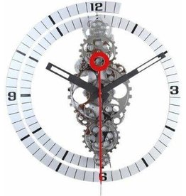 Large Wall Gear Clock (Plastic Frame) 24x24