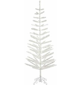 Silver Feather 7' Tree LED