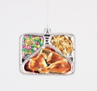 TV Dinner Ornament