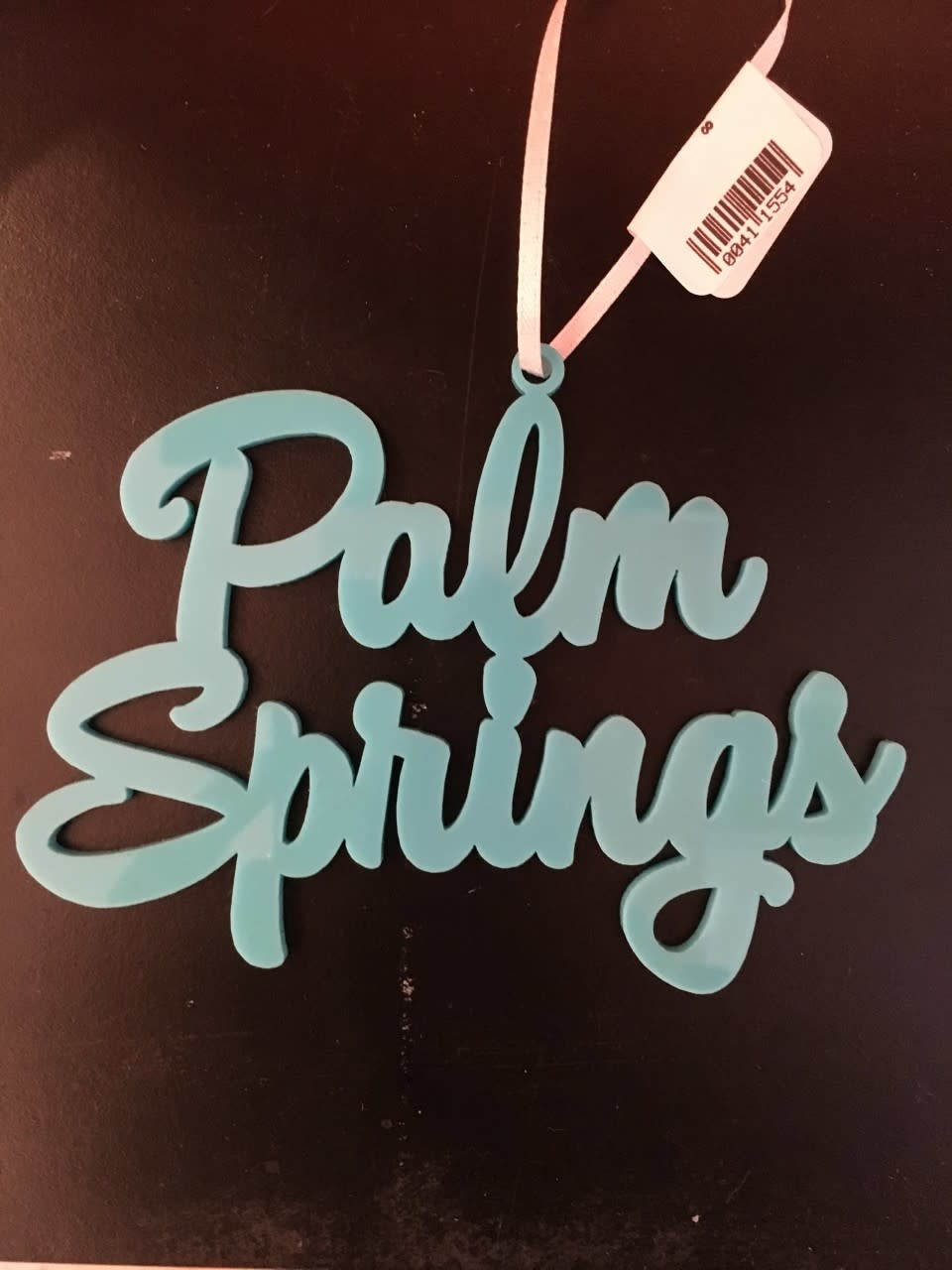 Palm Springs Palm Springs Turquoise Ornament