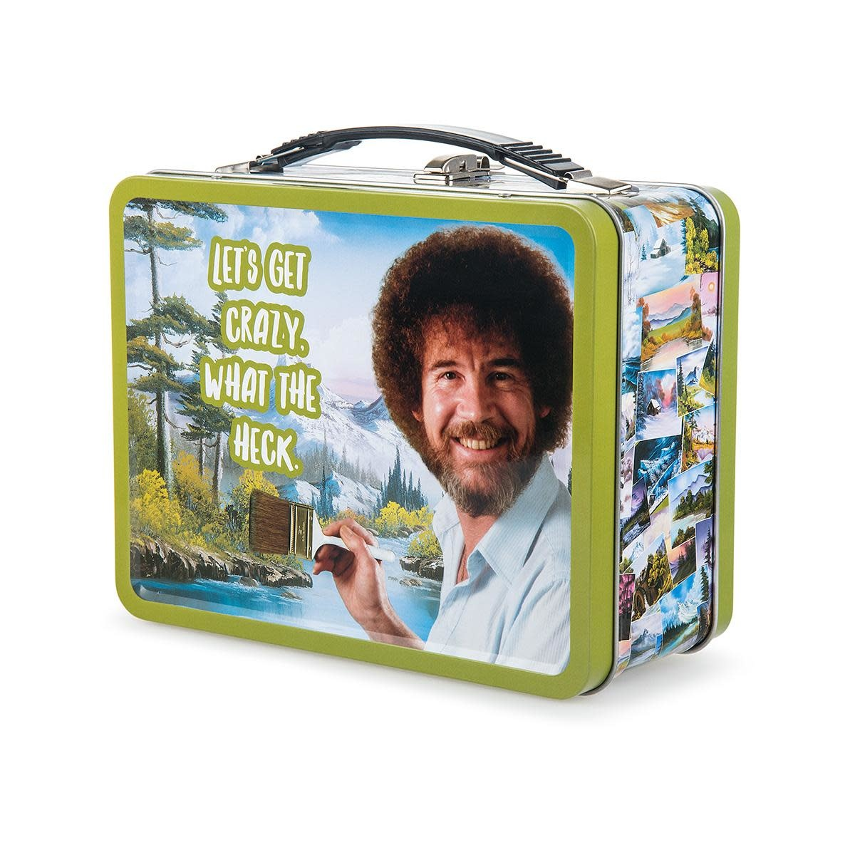 Bob Ross - Happy Accidents Lunch Box