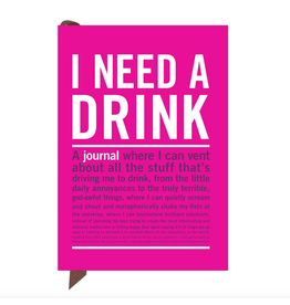 I Need A Drink Journal