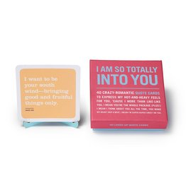 I Am So Totally Into You Quote Cards