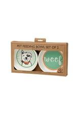 Bowl Gift Set Lucky Dog