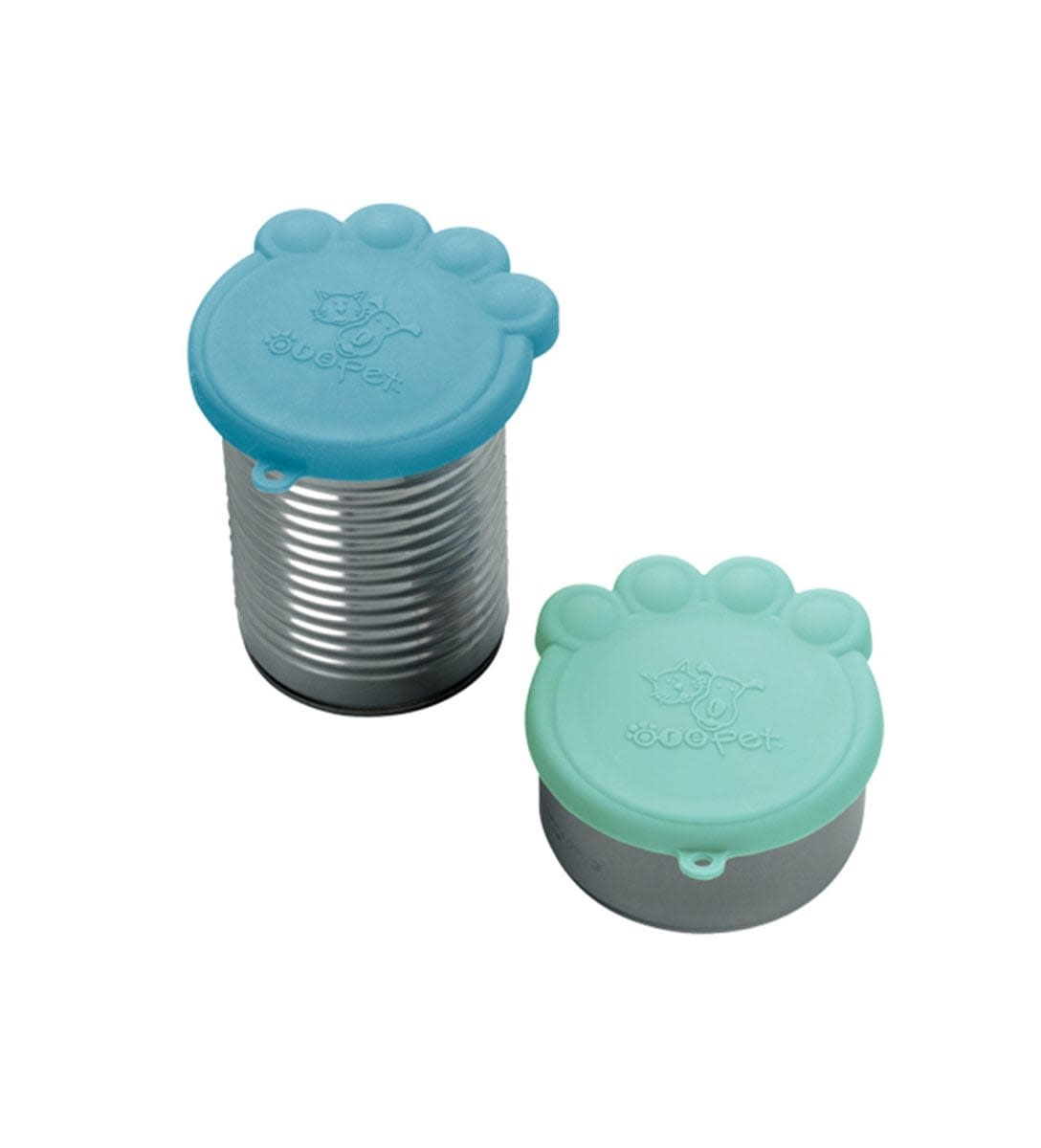 Pet Can Cover Set / Light Blue and Blue
