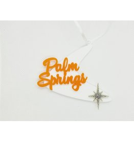 Palm Springs Orange Palm Springs Boomerang Ornament