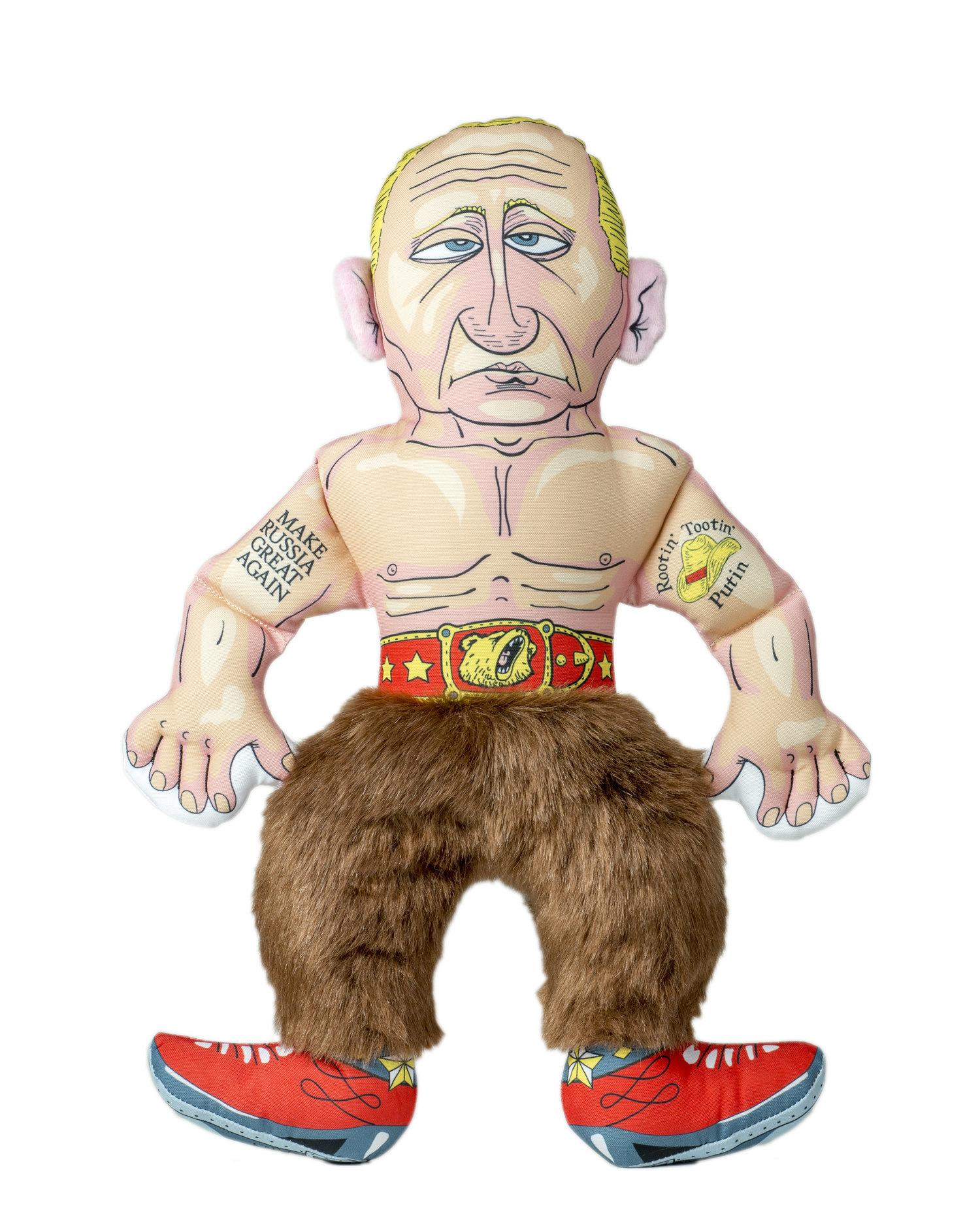 """Putin Large Dog Toy - 17"""" W/ Squeaker"""