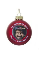 Bob Ross Happy Accidents Ornament