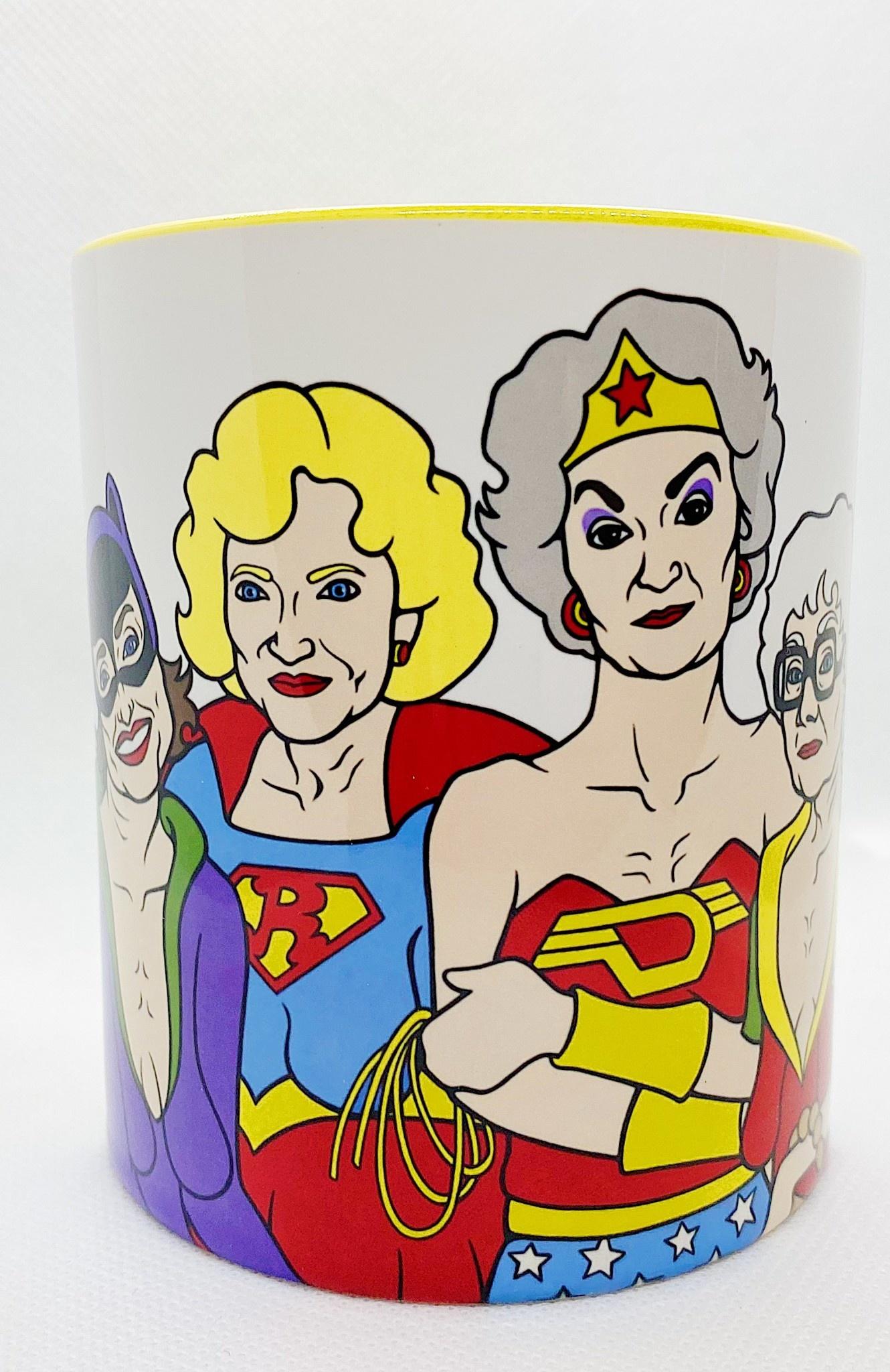 Golden Heroes Mug