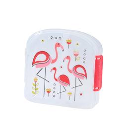Good Lunch Sandwich Box Flamingos