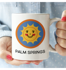 Palm Springs Happy Sun Palm Springs Mug