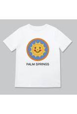 Rock Scissors Paper Happy Sun Palm Springs Toddler Tee