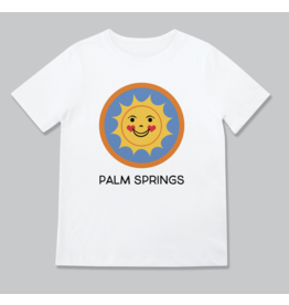 Rock Scissors Paper Happy Sun Palm Springs Toddler Tee