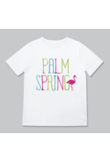 Rock Scissors Paper Flamingo Palm Springs Toddler Tee