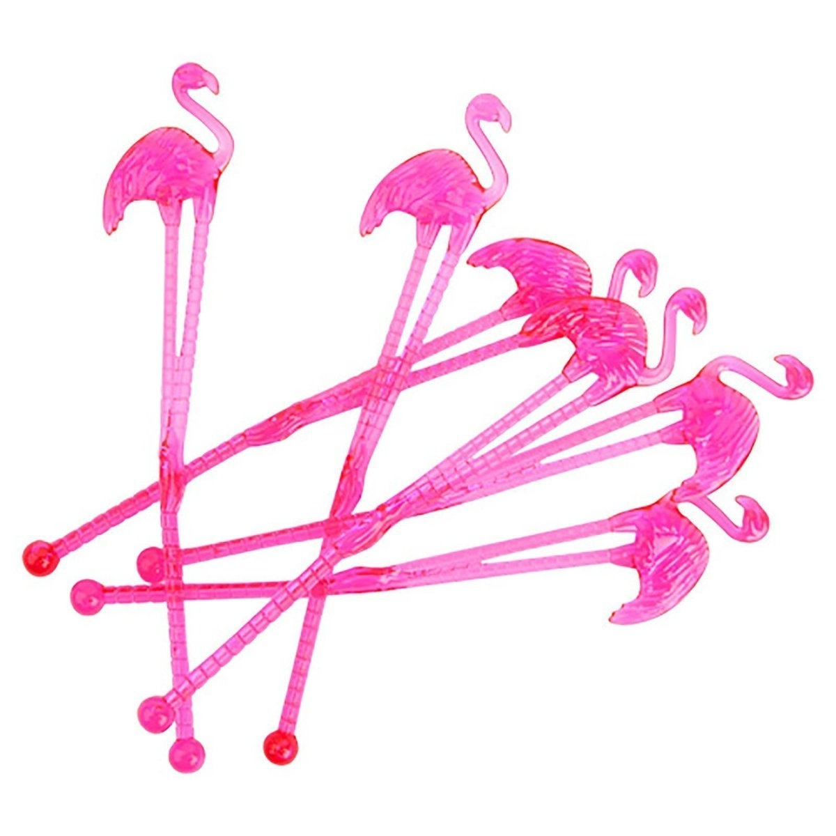 Flamingo Cocktail Stirrers
