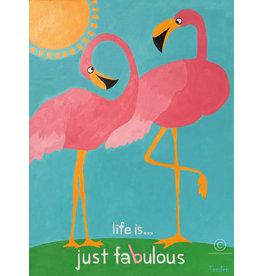 Fabulous Flamingo - Framed