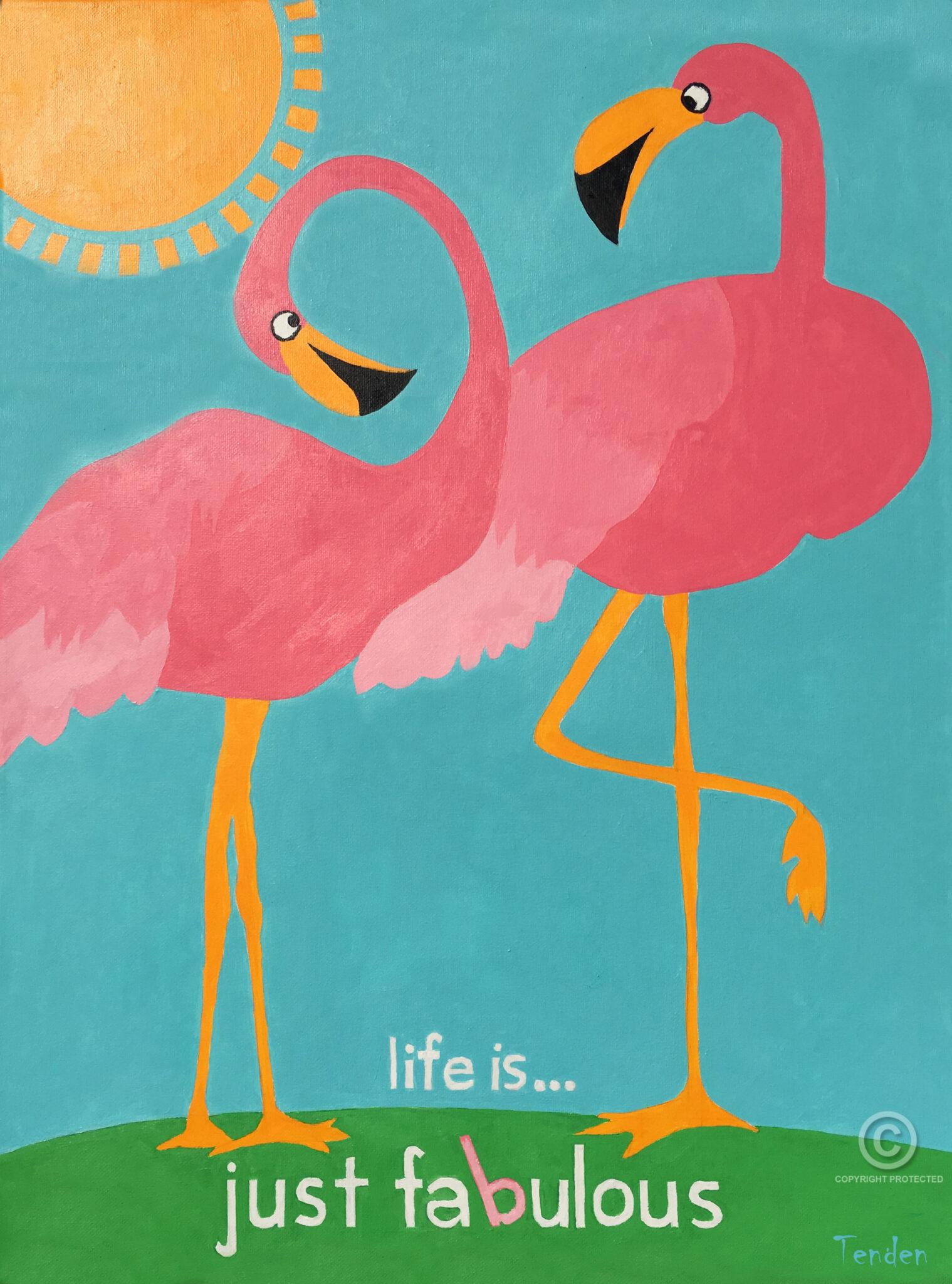 Fabulous Flamingo
