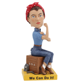 Rosie The Riveter Bobblehead