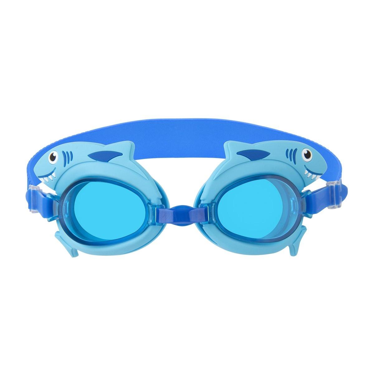 Shaped Swimming Goggles 3-9 Shark