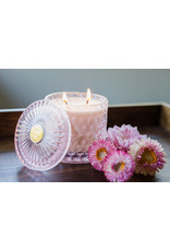 Peony Shimmer Candle Double Wick
