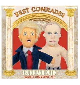 Best Comrades Trump Putin Puppet Set