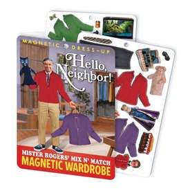 Mister Rogers Hello Neighbor Magnetic Dress Up