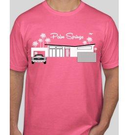 Just Fab Mens' Jersey Shirt - Neon Pink