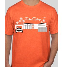 Just Fab Mens' Jersey Shirt - Neon Orange