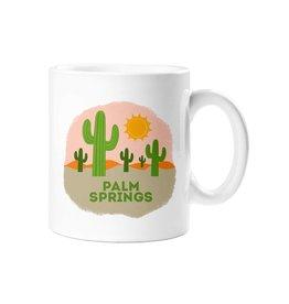Palm Springs Desert Landscape Mug