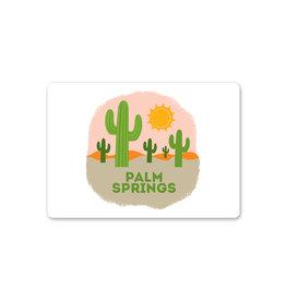 Palm Springs Desert Landscape Magnet