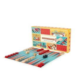 Retro Backgammon Set