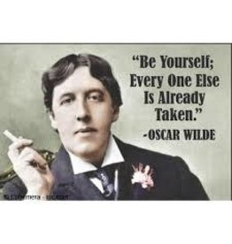 Oscar Wilde Magnet: Be Yourself Every One Else Is Taken