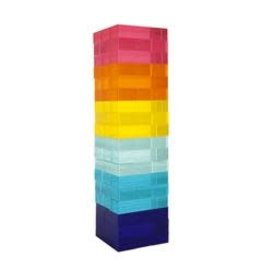 Lucite Jumbling Tower Super Fly