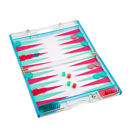 Lucite Backgammon Super Fly