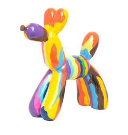 Koons Inspired Graffiti Balloon Dog
