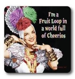 Fruit Loop in a World of Cheerios Coaster