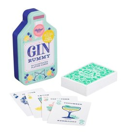 Gin Rummy Playing Cards Tin