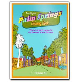 Palm Springs Coloring Book-Volume #1