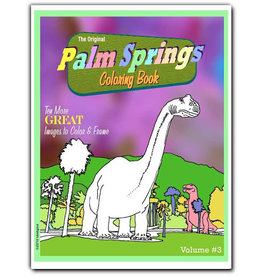 Palm Springs Coloring Book-Volume #3