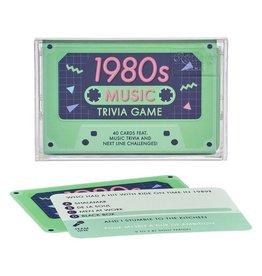 1980s Music Trivia Tape Game